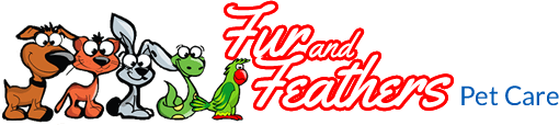Fur and Feathers Pet Care Logo
